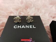 Cc Stud Earrings Gold Tone 2018 Chanel A88429 Strass Crystal Mini