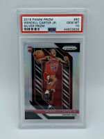 Wendell Carter Jr. 2018 Panini Prizm Silver Rookie Card #80 PSA 10 Chicago Bulls