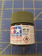 Tamiya Xf-67 Nato Green 23ml #81367 Acrylic Paint Ships from Usa