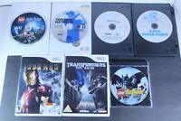 Nintendo Wii games Various Titles Mixed Genre Mixed Lot Of 7