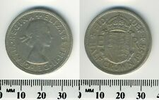 Great Britain 1958 - 1/2 Crown (Half Crown) Copper-Nickel Coin - Q. Elizabeth II