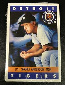 1992 DETROIT TIGERS Kroger/Coca-Cola Promo (28) card sets - SEALED in org pkg
