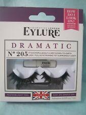 Eylure Dramaticd  eye Lashes #205 with Eyelash Glue & Applicator.