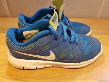 Nike Free Run 5.0 Blue Uk Size 2