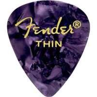 Genuine Fender 351 Premium Picks Purple Moto Thin 12-pack 198-0351-776