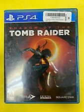 Shadow of the Tomb Raider (Sony PlayStation 4, 2018) Ps4