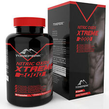 Nitric Oxide Xtreme Muscle Growth Workout Recovery Supplement 90 Caps *Tonepeak*