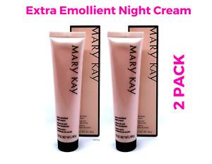 Mary Kay Extra Emollient Night Cream  2.1 oz / 60g !!!2 PACK!!!