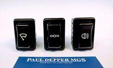 MG MGB Switch Set (Wiper/ Headlight/ Heater Switch) (BHA5110/ BHA5111/ BHA5113)