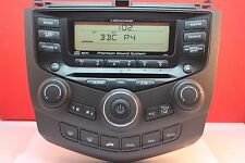 HONDA ACCORD 6 DISC CD RADIO PLAYER CAR STEREO DECODED 2003 2004 2005 2006 2007