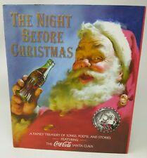 75th Anniversary COCA-COLA Santa - The Night Before Christmas STORY BOOK