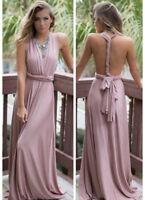 Damen Abendkleid Ballkleid Kleid Bodenlang Partykleid Multi Tragen Methode BC417