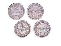 Thirty (30) Columbia  2 Centavos Lazaretos 1921 Coins, Fine,KML 10