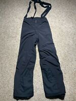 Patagonia Womens Full Zip Side Insulated Fleece Lined Ski Pants Black Size 28