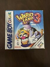 Wario Land 3 - Nintendo GameBoy Colour - With full instruction manual and boxed