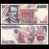 Mexico 100 Pesos, 1992, P-98, UNC
