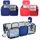 Baby Safety Playpen Play Center Kids Activity Yard Foldable Indoor Outdoor Pen