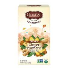 Celestial Seasonings Teahouse Organic Tea Ginger Turmeric