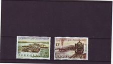 YUGOSLAVIA - SG2001-2002 MNH 1981 125th ANNIV DANUBE COMMISSION