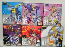 BANDAI DIGIMON DIGIVOLVING SPIRITS 02 TO 07 SET Figures Original New