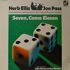 "SEVEN, COME ELEVEN - HERB ELLIS - JOE PASS  12""  LP (P215)"