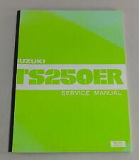 Workshop MANUAL/Repair Manual Suzuki TS 250 egli STAND 11/1980