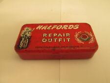 Halfords cycle repair kit tin. cycle tin. workshop. bicycle tin.