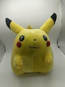 """Original Pikachu Plush 1999 Jumbo Vintage VTG RARE Nintendo Hasbro Giant Fat 16"""""""