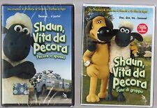 shaum vita da pecora -  2 dvd - pecore a spasso -foto fi gruppo