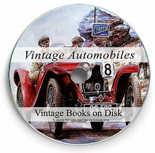 Rare Vintage Car Books on DVD Repair Paint Restore Classic Manual Engine Oil 282