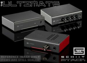 Schiit Stack Magni Heresy Modi 3+ Plus Loki M+ ALL BLACK/RED theme 😍 Schitt Amp