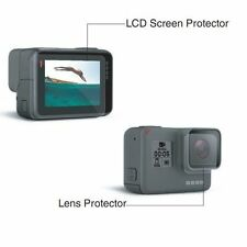 Dustproof LCD Screen Protector Film+Lens Guard For GoPro Hero5 Camera Accessory