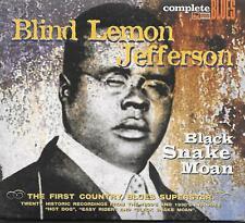 Blind Lemon Jefferson Black Snake Moan Digipak UK CD