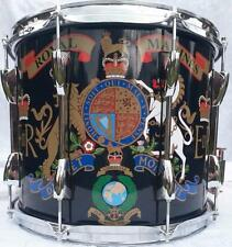 Royal Marines/Cadet Marching Snare Drum, traditionnel double CAISSE CLAIRE Marching Drum