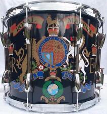 Royal Marines/Cadete Tambor con Bordón, doble lazo marchando tambor tradicional