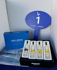 Grey Goose Collection Bridgestone Tour B330-RXS Collectible Golf Balls 1 dozen