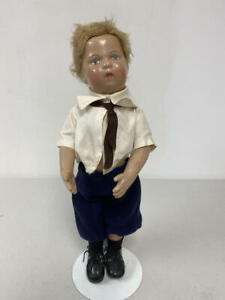"13.5"" ANTIQUE SCHOENHUT DOLL TLC"