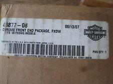 2008 Harley Davidson FXDWG Wide Glide Chrome Front End Package 46877-08 OEM NEW
