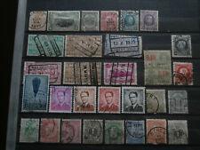 Belgium stamps nice old mix