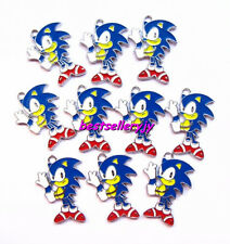 20 Pcs Fashion cartoon hedgehog Metal Charms Jewelry Making pendants Party Gifts