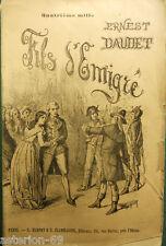 FILS D'EMIGRÉ ERNEST DAUDET ROMAN HISTORIQUE CA 1890 MARPON