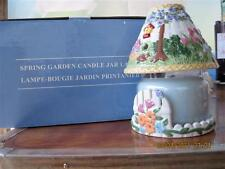 Gorgeous Spring Garden Candle Jar Lamp.by Avon.4Th in the Series