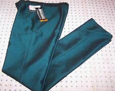 Roughrider Circle T Classic Rise Dark Green Silver Concho Jeans 9 / 10 X 35 Long