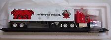 Matchbox RED DOG Beer Tractor Trailer Truck 1/100 Diecast w orig Box & COA