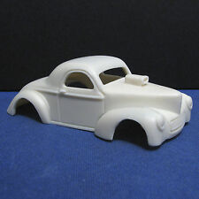 Jimmy Flintstone HO 1941 Willys Resin Slot Car Body - Fits 4 Gear - #3
