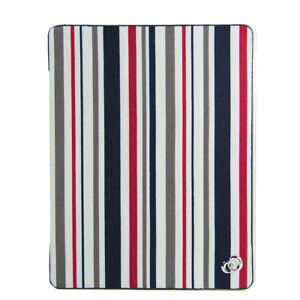 KroO Tri-Fold Folio w/ Clear Rear Case for Apple iPad (2nd, 3rd and 4th Gen)