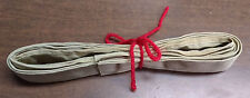 """fabric purse tote strap, 1"""" x 6 ft, new material, 100% cotton, sandy beige color"""