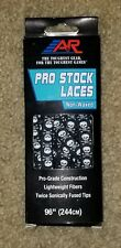 """A&R Pro Stock Ice Skate Laces Non-waxed - 96"""" Skull & Crossbones"""