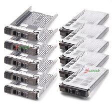 10* Dell 3.5 SAS Hard Drive Tray Caddy PowerEdge R630 R730 R730XD T630 (F238F)