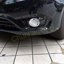 Chrome Front Fog Light Lamp Cover Trim  for 2014-2017 Mercedes-Benz Vito Plastic